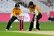 Gareth Delaney of Leicestershireduring the Vitality T20 Blast North Group match between Nottinghamshire County Cricket Club and Leicestershire County Cricket Club at Trent Bridge, Nottingham, United Kingdom on 4 September 2020.