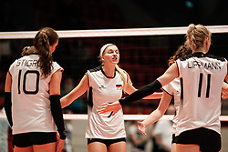16.05.2019, Montreux, SUI, Montreux Volley Masters 2019, Deutschland vs Polen, im Bild Nele Barber (Germany #7) // during the Montreux Volley Masters match between Germany and Poland in Montreux, Switzerland on 2019/05/16. EXPA Pictures © 2019, PhotoCredit: EXPA/ Eibner-Pressefoto/ beautiful sports/Schiller<br /> <br /> *****ATTENTION - OUT of GER*****