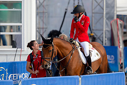 Klaphake Laura, GER, Catch Me If You Can 21<br /> World Equestrian Games - Tryon 2018<br /> © Hippo Foto - Sharon Vandeput<br /> 23/09/2018