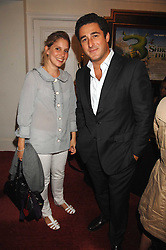 LUCA DEL BONO and CHRISTINA McLEAN at the Grand Classics presentation of Ken Loach's Oscar winning film 'Closely Observed Trains' held at the Electric Cinema, Portobello Road, London W11 on 9th July 2007.<br /><br />NON EXCLUSIVE - WORLD RIGHTS
