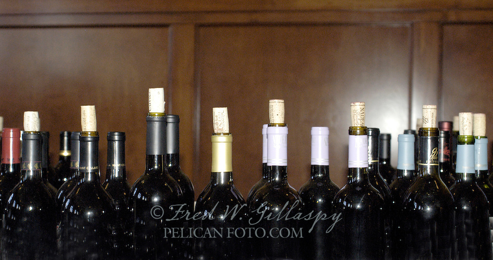 Wine Competition Bottles