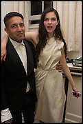 OSMAN YOUSEFZADA; EVANGELINE LING  , The Launch of OSMAN the Collective No.3, hosted by Valeria Napoleone, Kensington. 15 May 2014.