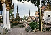 Wat Pho Buddhist temple, Bangkok, Thailand, Asia in 1964