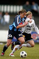 Apeldoorn, 24-03-2003<br />Testmatch between Ørjan Berg, Rosenborg (N) en Djurgården (S).<br />Both teams are preparing for the next season in Sweden and in Norway.<br />Location: AGOVV, Apeldoorn, Netherlands