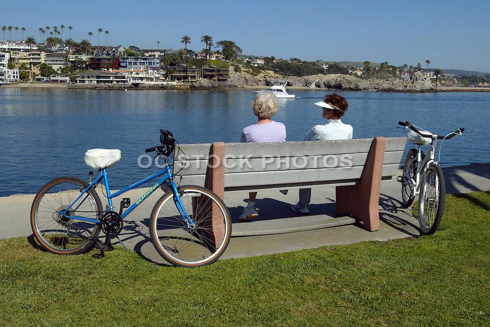 Active Senior Women In Balboa Island
