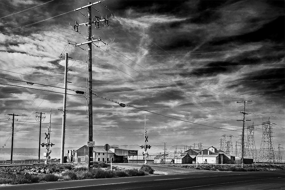 Train Crossing, Buttonwillow, CA