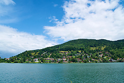 ROTTACH-EGERN, GERMANY - Wednesday, July 26, 2017: Lake Tegernsee from Rottach-Egern, the base for Liverpool's preseason training camp in Germany. (Pic by David Rawcliffe/Propaganda)