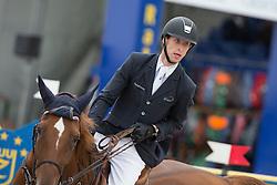 Devos Pieter (BEL) - Candy<br /> Belgium Championship Jumping - Lanaken 2012<br /> © Dirk Caremans