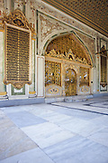 Sultans Reception Room, Imperial Council Chambers, Topkapi Palace - Istanbul, Turkey <br /> <br /> Editions:- Open Edition Print / Stock Image