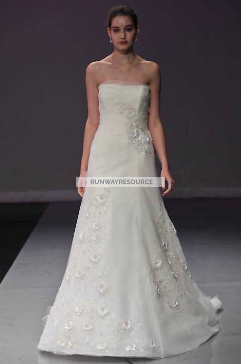 Rivini runway show during New York Bridal Spring 2012