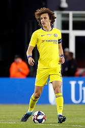 May 15, 2019 - Foxborough, MA, U.S. - FOXBOROUGH, MA - MAY 15: Chelsea FC defender David Luiz (30) during the Final Whistle on Hate match between the New England Revolution and Chelsea Football Club on May 15, 2019, at Gillette Stadium in Foxborough, Massachusetts. (Photo by Fred Kfoury III/Icon Sportswire) (Credit Image: © Fred Kfoury Iii/Icon SMI via ZUMA Press)
