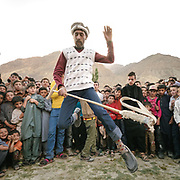 Traditional Dance after a Polo match, Mastuj town, Chitral.