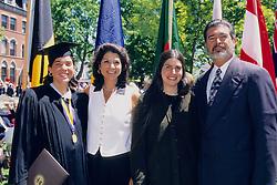 Elise Anna Michele & Alfredo Colomer, Tufts University 1997 Graduation