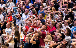 Fans show their frustration while watching the game between England and Russia in the Sports Bar and Grill at Ashton Gate - Mandatory by-line: Robbie Stephenson/JMP - 11/06/2016 - FOOTBALL - Ashton Gate - Bristol, United Kingdom  - England vs Russia - UEFA Euro 2016