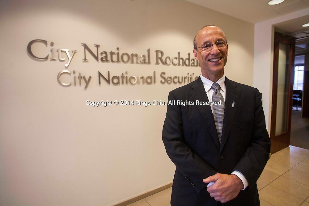 Richard Gershen, executive vice president, City National Wealth Management.<br /> (Photo by Ringo Chiu/PHOTOFORMULA.com)