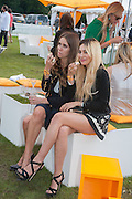 JADE WILLIAMS; ZARA MARTIN, The Veuve Clicquot Gold Cup Final.<br /> Cowdray Park Polo Club, Midhurst, , West Sussex. 15 July 2012.