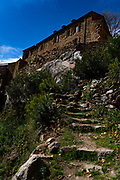 Abbaye St Martin du Canigou - Sant Martí del Canigó  - built in 1009 in in the Pyrenees of Northern Catalonia on Canigou mountain - now in France.