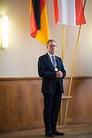 DEU, Deutschland, Germany, Berlin, 25.08.2020: Bezirksbürgermeister Reinhard Naumann (SPD) im Rathaus Charlottenburg.
