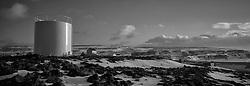 Buildings in Grimsey, north of Iceland - Byggingar  í Grímsey