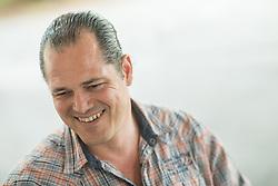 Portrait of Jernej Paulic, owner of Cube Fitness centre in Ljubljana, on April 24, 2018 in Cube Fitness, Ljubljana, Slovenia. Photo by Vid Ponikvar / Sportida