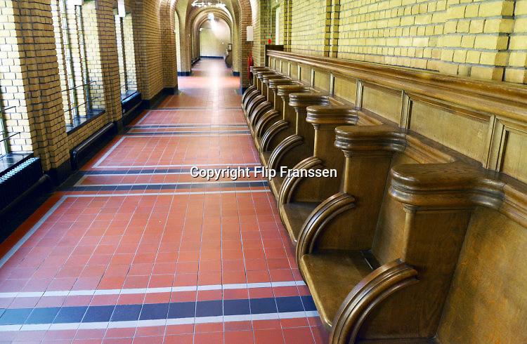 Nederland, Nijmegen, 23-8-2016Interieur van het Albertinum, voormalig klooster van de dominicanen, dominicanenklooster,  waar o.a. professor theoloog Edward Schillebeeckx woonde .Foto: Flip Franssen