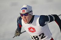 Langrenn, 01. mars 2003, Junior NM, Tord Asle Gjerdalen, Holeværingen, ble nummer tre i 18-19 år fristil