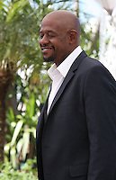 Actor Forest Whitaker at the Zulu film photocall Cannes Film Festival Sunday 27th May 2013