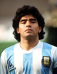 August 1, 1992 - 920801 Fotboll: Diego Maradona, Argentina..© Bildbyran - dia (Credit Image: © Bildbyran via ZUMA Press)