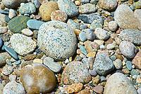 Colorfull, Pebbles & rocks, Cape Cod, Massachusetts, USA.