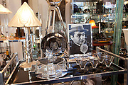 Pan shop, specialising in art deco lights and decor, near Rudolfplatz, Cologne.