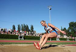 Snezana Rodic at Athletic National Championship of Slovenia, on July 19, 2008, in Stadium Poljane, Maribor, Slovenia. (Photo by Vid Ponikvar / Sportal Images).
