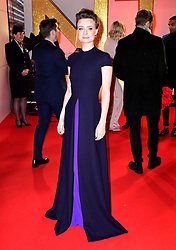 Jennifer Kirby attending the National Television Awards 2019 held at the O2 Arena, London. PRESS ASSOCIATION PHOTO. Picture date: Tuesday January 22, 2019. See PA story SHOWBIZ NTAs. Photo credit should read: Ian West/PA Wire