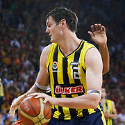 Fenerbahce Ulker's Darjus LAVRINOVIC during their Turkish Basketball league Play Off Final third leg match Galatasaray between Fenerbahce Ulker at the Abdi Ipekci Arena in Istanbul Turkey on Thursday 09 June 2011. Photo by TURKPIX