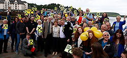 First Minister in Oban to visit SNP street stall and walkabout, George St, Oban........ <br /> (c) Stephen Lawson   Edinburgh Elite media