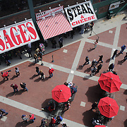Food and drink outlets during the Boston Red Sox V Tampa Bay Rays, Major League Baseball game on Jackie Robinson Day, Fenway Park, Boston, Massachusetts, USA, 15th April, 2013. Photo Tim Clayton