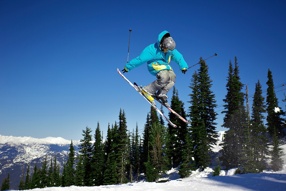 Whistler Blackcomb during the 2010 Winter Olympics
