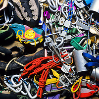 Antique climbing gear offers a glimpse of climbing history, Japan