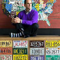 Camping World CEO and host of The Profit on CNBC Marcus Lemonis in the Camping World headquarters. Photo by Jim Prisching