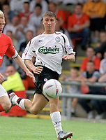 Gregory Vignal (Liverpool) Crewe v Liverpool. Pre season friendly match. 19/7/2003. Credit : Colorsport/Andrew Cowie.