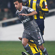 Besiktas's Simao SABROSA (F) during their Turkish superleague soccer match Besiktas between Bucaspor at BJK Inonu Stadium in Istanbul Turkey on Friday, 21 January 2011. Photo by TURKPIX