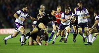 Rugby Union - 2017 Autumn Internationals - Scotland vs. New Zealand<br /> <br /> Sonny Bill Williams of New Zealand runs through the Scotland defence at Murrayfield.<br /> <br /> COLORSPORT/LYNNE CAMERON
