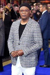 Samuel L. Jackson attending the European premiere of Captain Marvel at Curzon Mayfair, London. Picture Credit Should Read: Doug Peters/EMPICS Entertainment