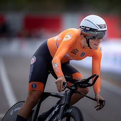 24-09-2020: wielrennen: WK tijdrit vrouwen: Imola. <br /> Ellen van Dijk (Netherlands)