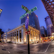 Library District at 10th and Baltimore in downtown Kansas City, Missouri.