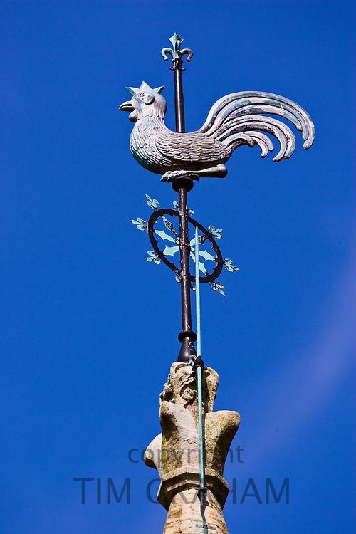 St Thomas church spire, Melbury Abbas in Dorset, United Kingdom
