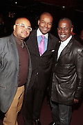 7 March 2011- New York, NY- l to r: Brett Wright, Kenard Gibbs and Raymond O'Neal at the Power of Urban Presentation and Reception hosted by Magic Johnson and Yucaipa and held at the Empire Penthouse on March 7, 2011 in New York City. Photo Credit: Terrence Jennings/Photo Credit: Terrence Jennings for Uptown Magazine
