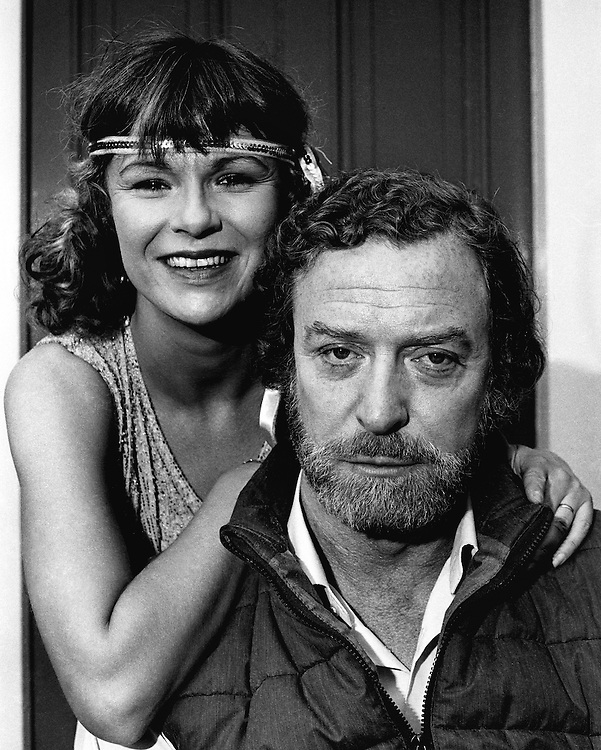 Actress Julie Walters and actor Michael Caine seen on the set of the film 'Educating Rita'in Dublin, Ireland in September 1982. Photographed by Terry Fincher