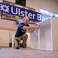 29 October 2011; Pictured at Lattin Cullen GAA Club during the Ulster Bank GAA Force initiative weekend was, Lattin Cullen GAA Club member Ger Howe. A team of local volunteers, club members and Ulster Bank employees took over Lattin Cullen GAA Club this weekend as part of Ulster Bank GAA Force – an initiative set up to encourage local communities to help improve their GAA club's facilities. Lattin Cullen GAA Club was recently awarded a support package worth €5,000 as one of four provincial runners-up in the Ulster Bank GAA Force initiative. The overall winner of Ulster Bank GAA Force was St. Joseph's GFC Ederney in Fermanagh, while the three additional runner's up were St. Joseph's OCB GAA Club, Dublin, Sean Dolan GAA Club, Derry and Kilglass GAA Club, Roscommon. The Ulster Bank GAA Force initiative was open to GAA clubs across the island of Ireland. Clubs were asked to submit their entries on Ulster Bank's dedicated GAA website – www.ulsterbank.com/gaa. Entrants were asked to provide details of their club's plans to make improvements, outline the role of the club in their locality and the benefits the makeover would have on the club and the wider community. The first 100 clubs who registered also received a mini support package to the value of €100. Ulster Bank GAA Force Weekend, Lattin Cullen GAA Club, Lattin Village, Tipperary. Picture credit: Matt Browne / SPORTSFILE *** NO REPRODUCTION FEE ***