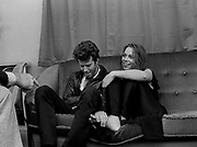Tom Waits with Rickie Lee Jones backstage - London 1979