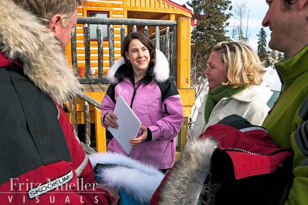 Megan Waterman of Dawson City's Northern Garments shares information about her patented anorak design